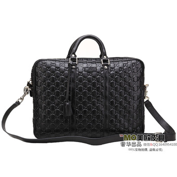 Cologne paragraph cowhide embossed black casual men and women bags handbag shoulder bag