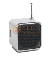 Digital Portable Speaker MP3 Player Micro SD TF Card FM Radio Line In/ Out Mini Speaker Music Sound Box Multi-Colors