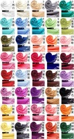 50pcs Free shipping Fashion Women's Pashmina Tassel Scarf Wrap Shawl scarves 40 Colors wholesale