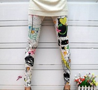 2013 New Fashion Sexy Lady's Punk Funky Sexy Stretchy Tight Pencil Skinny Pants