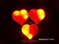 Sistance 05500534 heart flash brooch xiongpai luminous decoration