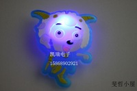 0512 insolubility jubilance flash brooch led brooch led badge cartoon gift holiday decoration