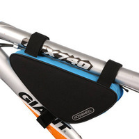 2013 New Travel Cycling Bicycle Bike Front frame tube triangular pannier bag bicycle parts accessories Blue in stock