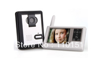 Free shipping 3.5 Inch TFT Wireless Video Intercom Doorbell Door Phone Intercom System