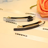 Small hair accessory acrylic brief paragraph hairpin slender