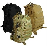 3d tactical backpack double-shoulder mountaineering bag travel bag acme Camouflage cp olive male Free Shipping S7039