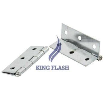 """New 24pcs 3"""" (75mm) Window Butt Hinges Zinc Plating Door Hinges Metal Silver Steel 15036"""
