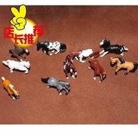 Safari artificial animal model toy animal decoration horse 10