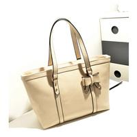 HOT!!!! Special Offer PU Leather bags women messenger bag/ Bow Retro Shoulder Handbag