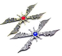 Free Shipping New Top Quality LOL Weapon Model Irelia 14cm Zinc Alloy Scissors  Key Chains