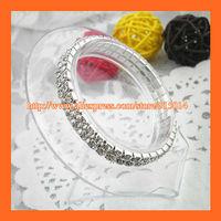 Free Shipping ! 2Row Rhinestone Napkin Ring,Bracelate ,Rhinestone Buckle For Wedding Table Decoration