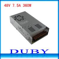 48V 7.5A 360W Switching Power Supply Driver For LED Strip light Display AC100V-240V Input,48V Output Free  Shipping