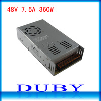 48V 7.5A 360W Switching Power Supply Driver For LED Strip light Display AC100V-240V Input,48V Output Free  Shipping