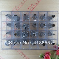 Stainless Steel Pastry NozzlesTool Seamless good quality dessert decorators Nozzles modelling