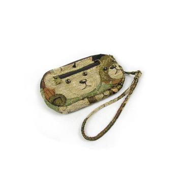 Princess Sweet lolita bag Small coin purse small female canvas tote bag cell phone pocket w79 green
