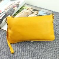 Genuine leather 2014 women's day clutch female clutch cosmetic bag evening bag women's small shoulder bag clutch bag
