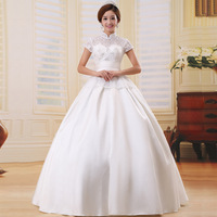 Wedding dress royal princess dress vintage married bridal wear bag lace hs6253