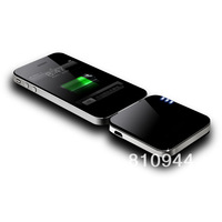 Free Shipping ! 2pcs/lot 1000mAh Mobile Power Bank for iPhone4S, iPod, Apple devices