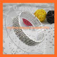 Free Shipping ! 4Row Rhinestone Napkin Ring,Bracelate ,Rhinestone Buckle For Wedding Table Decoration