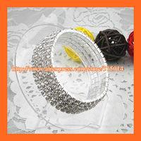Free Shipping ! 5Row Rhinestone Napkin Ring,Bracelate ,Rhinestone Buckle For Wedding Table Decoration