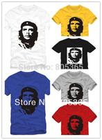 Hot selling Head portrait Che.Guevara lovers t shirt 100% cotton men's short-sleeve T-shirt fashion tops 6 colors