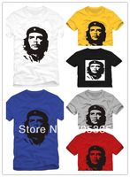 Hot selling Head portrait Che.Guevara lovers t shirt 100% cotton men's short-sleeve T-shirt fashion tops 6 colors
