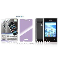 10X New CLEAR LCD Screen Protector Guard Cover Film For LG E405 E400 Optimus L3 freeshipping