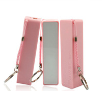 2600mAh Mini Mobile Portable External Pocket Battery Power Bank for Mobile phone (Pink)