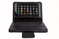 Wireless Bluetooth Keyboard Case For Google Nexus 7 2th second generation new 2013 Detachable Bluetooth Keyboards Drop Shipping
