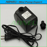 Best Price USA plug 1100LPH 1.9M 110V~120V 60Hz Mini Submersible Aquarium Fish Tank Air Water Pump/Fountain Pump Flow Controller