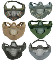 1688cs ii tmc mask steel wire mesh face mask ear cs protective mesh