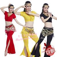 Belly dance set clothes dance set gauze quality indian dance clothes costume