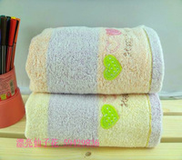 Cotton jacquard 100% ultra soft water absorption of 100% cotton yarn bath towel 60 120
