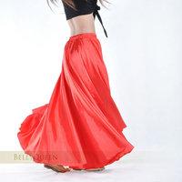 Dance dance dress skirt satin skirt expansion skirt belly dance skirt
