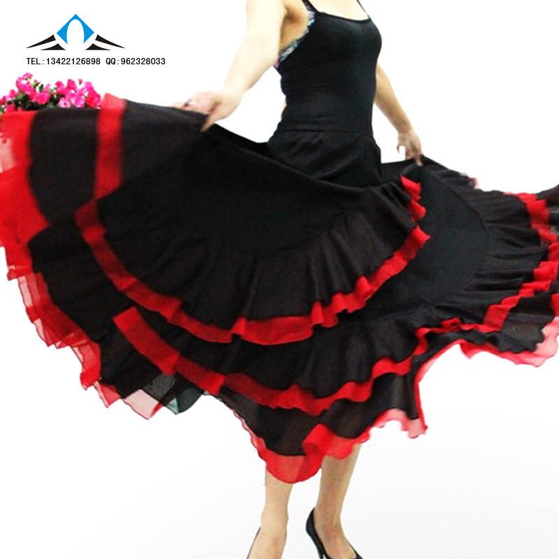Как сшить испанскую юбку для девочки 43