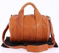 Rocco Stud-Bottom Satchel 24828 leather handbags,designer handbags