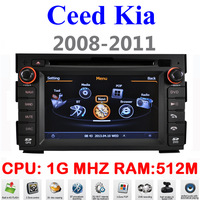Car DVD For Kia Ceed 2008 2010 2011 Auto Multimedia 1G CPU 1080P 3G Host HD Screen S100 DVR Audio Video Player Free EMS DHL