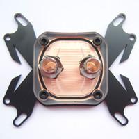 1 PCS CPU Water Cooling Block Copper Waterblock Liquid Cooler for Intel AMD W16 free shipping