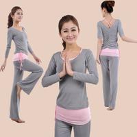 Yoga clothes three piece set yoga fitness clothing dance clothes modal