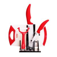 Fancy stylor home kitchen ceramic knife five pieces set kitchen knife cook knife tool set