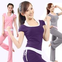 Yoga clothes summer set women's yoga clothing piece set dance clothes workout clothes