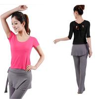 Modal yoga clothing yoga clothes set spring and summer dance leotard
