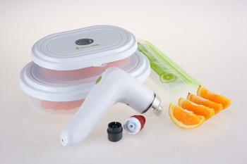 High qualty  Rechargeable plastic handheld vacuum sealer