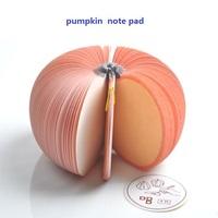 Novel Pumpkin Note Pad Scratchpad Post-it Paper Memo Gift