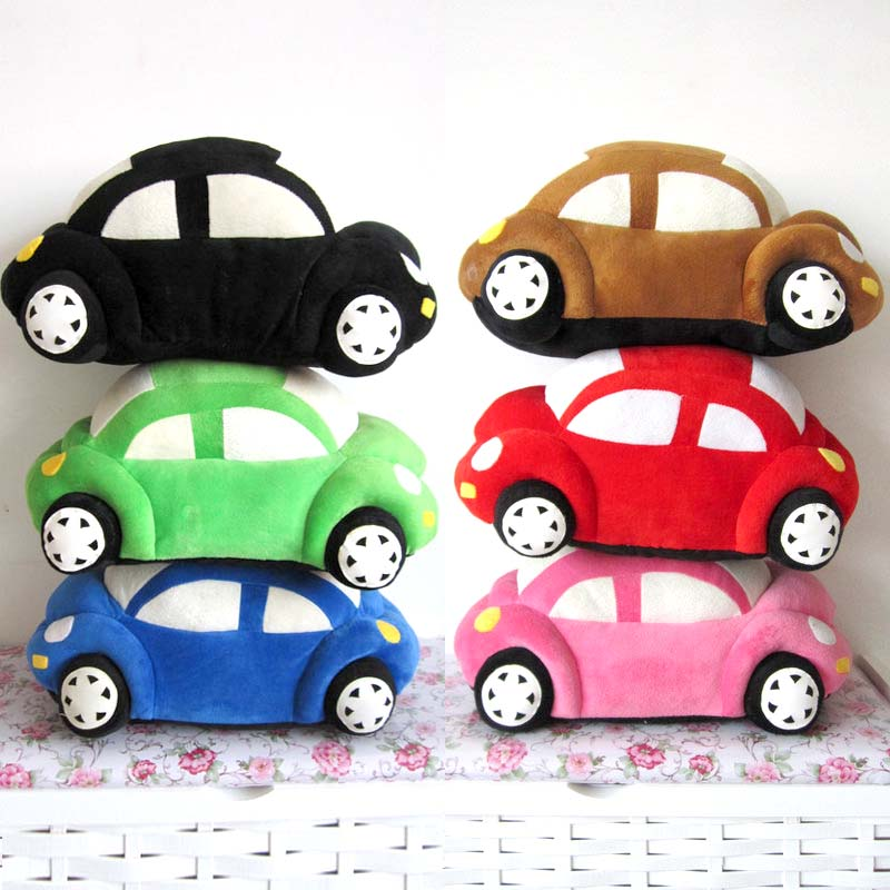 freeshipping 32cm large car plush toy car pillow beetle cushion birthday gifts for babykidschildren toys