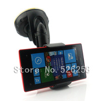 Universal Car Mount GPS Stand Holder Kits Cell Phone FOR Nokia Lumia 520 free shipping