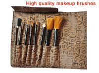 Free shopping!!!Low-cost sales makeup tools 7pcs make brush classical practice makeup brushes, black makeup brush