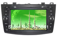 8 inch Car DVD player GPS for Mazda 3 2010-2013 Blutooth CanBus SD/USB ATV RDS IPOD 4G SD Map