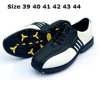 free shipping new 2013 1 pair Athletic Shoes Waterproof Anti-Skid Sport Golf Shoes for men size 6.5-9