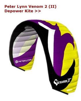 8meter PETERLYNN VENOM Nylon Traction Kite Power Kite Snow Kite free shipping